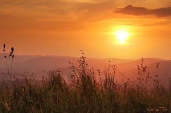 Sunset at Hluhluwe