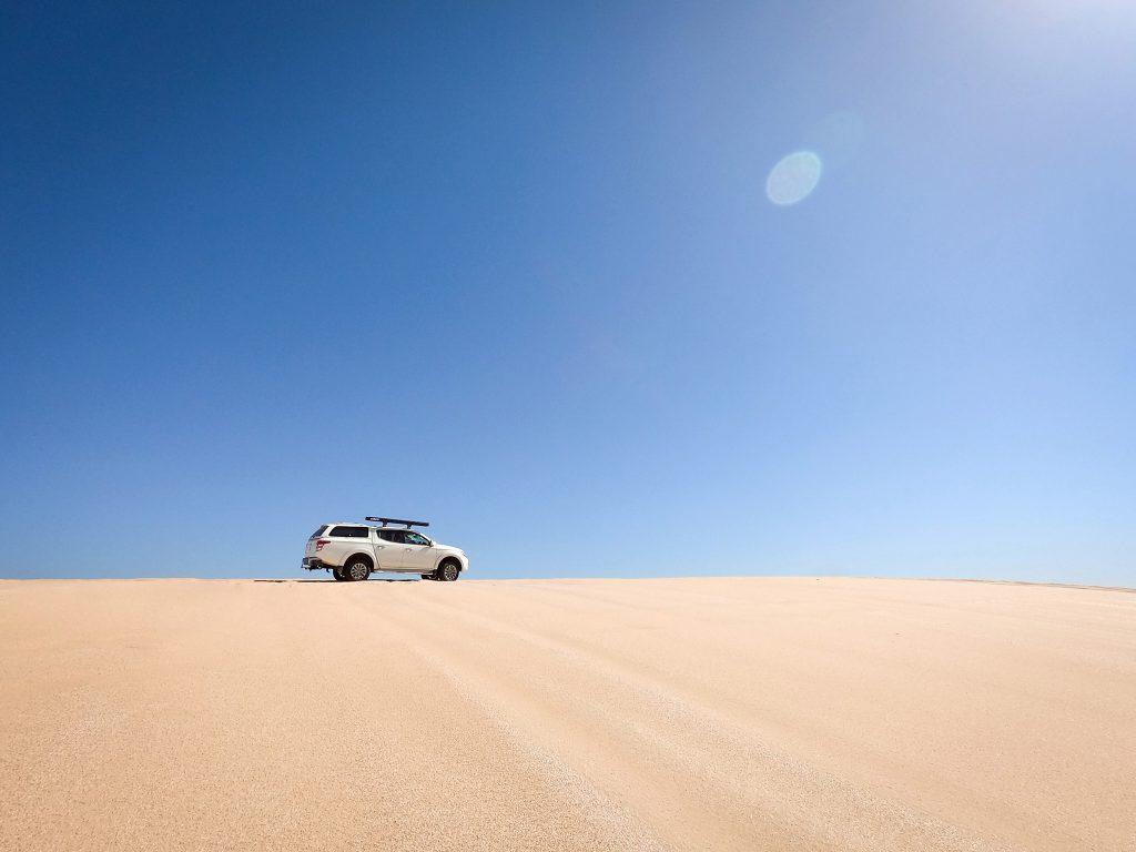 The Triton on the Stockton dunes