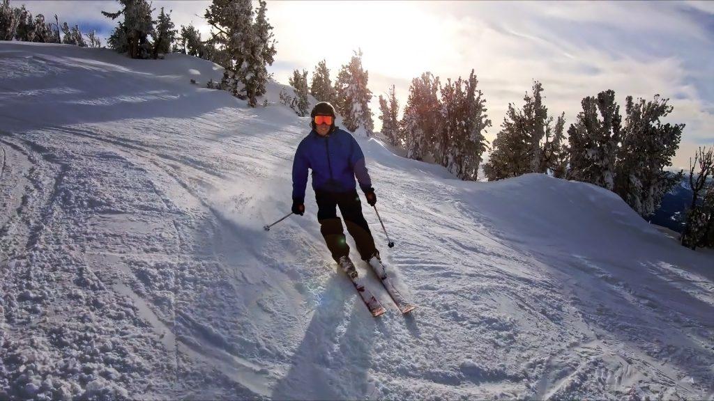 Warren skiing Heavenly