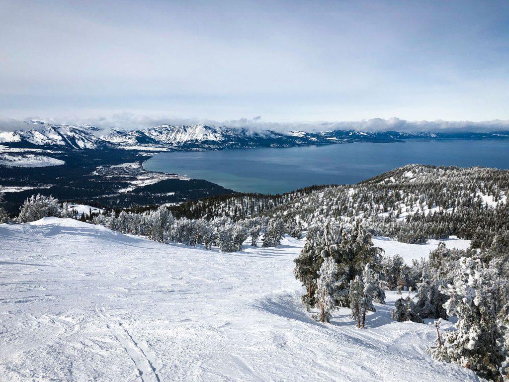 Views of Lake Tahoe from Heavenly Ski Resort