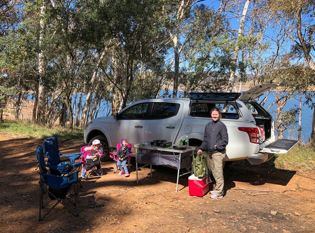 Sausage sizzle on the trails