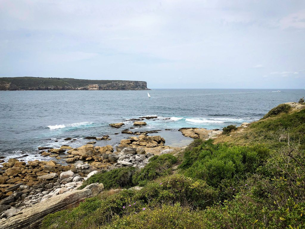 Looking towards North Head, from South Head