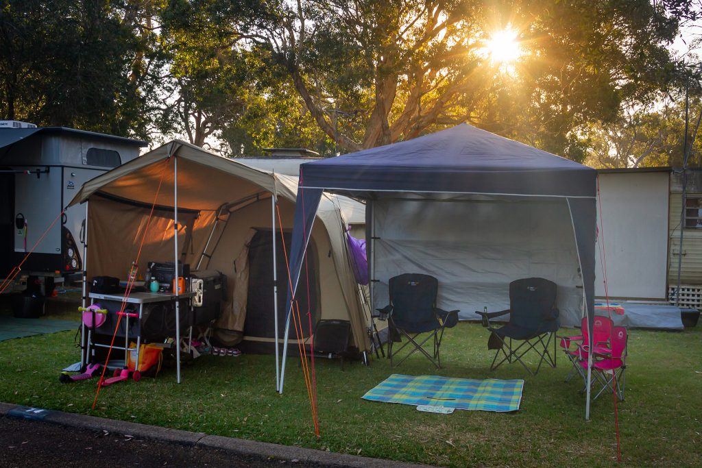 Another shot of our camp